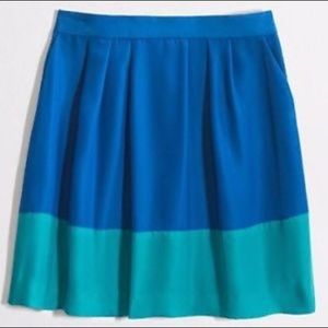 J.Crew Colorblock Skirt